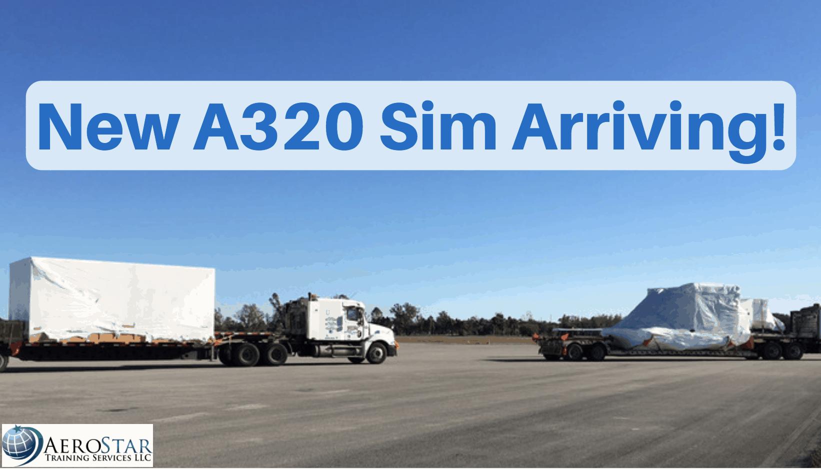 new a320 sim