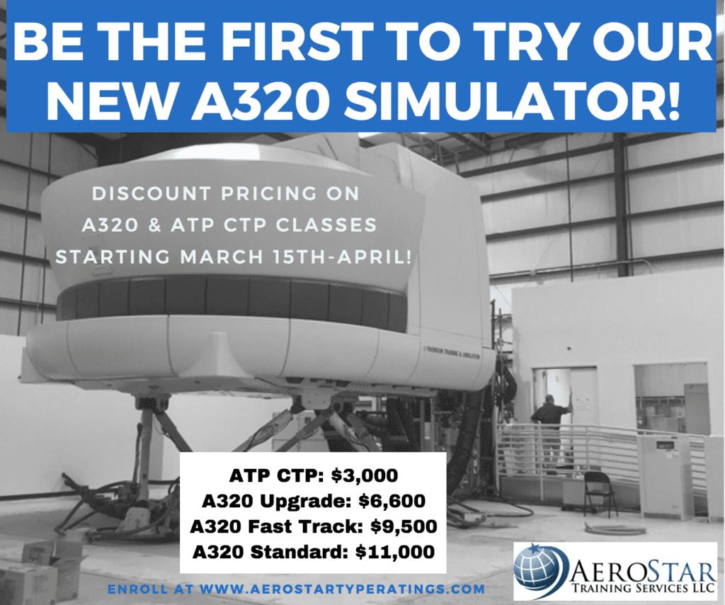 New A320 Simulator