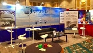 Aerostar booth at the WATS conference