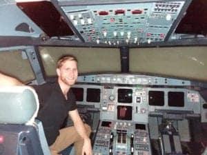 Australian A320 Pilot Chris Cain