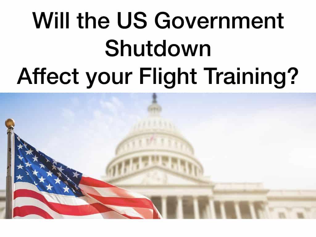 Will the US Government Shutdown Impact Your Flight Training?