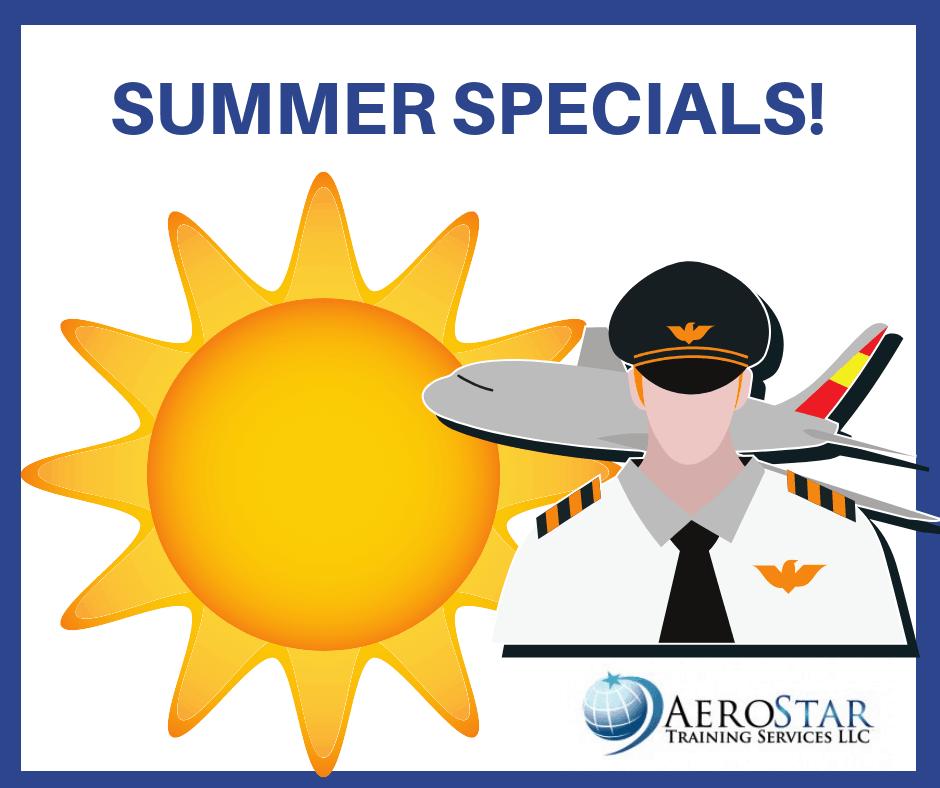 Summer Flight Training Special Offers | Airline Pilot Training