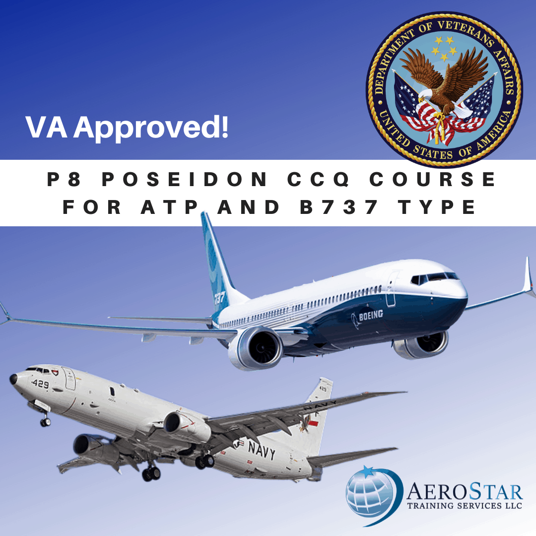 P8 Poseidon CCQ Course for ATP and B737 Type