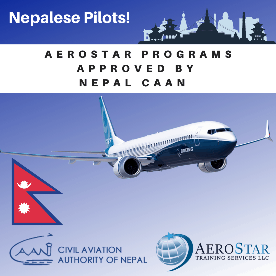 Aerostar Programs Approved by Nepal CAAN